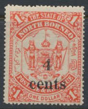 North Borneo  SG 154 SC# 132  MH OPT  see scans & details