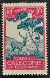 DYNAMITE Stamps: New Caledonia Scott #J22 – UNUSED
