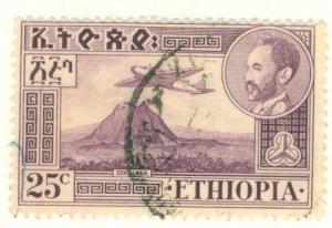 A2-0030 ETHIOPIA C25 USED BIN $.50