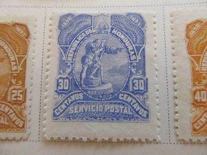 Honduras 1892 30c fine mh* stamp A11P11F13