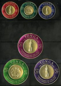 TONGA C1-C6 MNH BIN $5.00