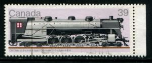 1120 Canada 39c Locomotive , used