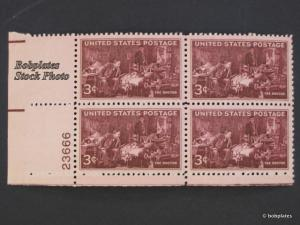 #949 Doctors Upper Left  Plate Block 23658 F-VF NH