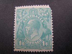 AUSTRALIA - SCOTT # 76   MLH   (APS A-2)
