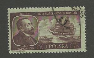 1957 Poland Scott Catalog Number 797 Used