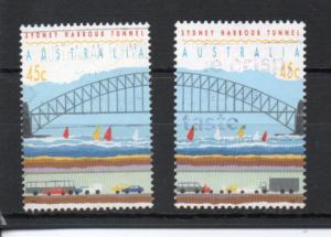 Australia 1296a-1296b used (B)