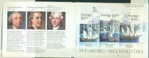 Sweden - Sc# 2530. 2006 SWhips Complete Booklet. $8.25.