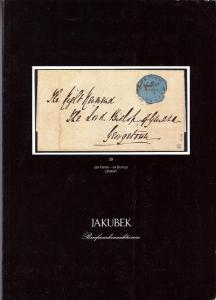 Jakubek: Sale # 6  -  Jakubek - Hamburg . Auktion 6/86, J...