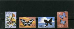 ANTIGUA& BARBUDA 1999 Sc#2288-2291 BUTTERFLIES SET OF 4 STAMPS MNH