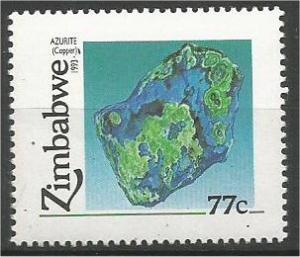 ZIMBABWE, 1993, MNH 77c, Minerals Scott 678