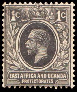 East Africa and Uganda Scott 40 Used.