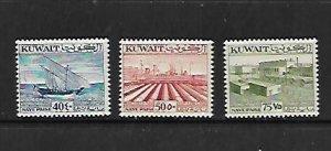 KUWAIT, 146-148, MNH, NAYE PAISE