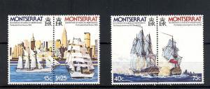Montserrat, 359a,361a, American Bi-Centennial Pairs,**MNH**