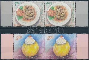 Bosnia Herzegovina stamp Local dishes set margin pair MNH 2008 WS194290