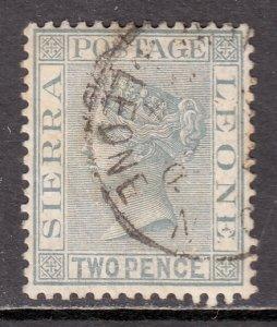 Sierra Leone - Scott #26 - Used - Toning - SCV $3.00