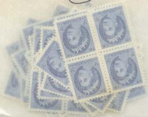 Canada - 1954 5c QE Wilding X 100 mint #341