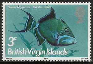 Virgin Islands, British 1975 Scott# 286 MNH