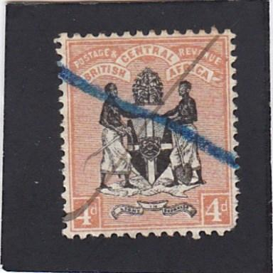 British Central Africa  #23  used