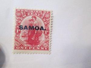 Samoa #137 MH  2019 SCV = $2.25