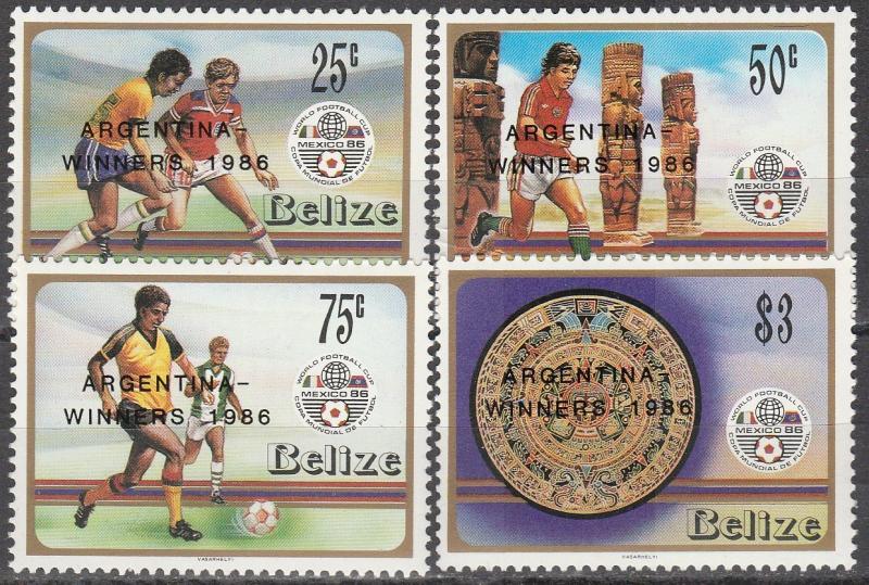 Belize #828-31 MNH CV $10.35 (A16429)