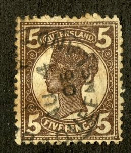 QUEENSLAND 119 USED SCV $3.25 BIN $1.25