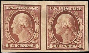 346 Mint,OG,HR... Pair... SCV $27.50