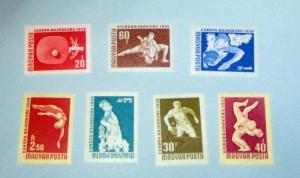 Hungary - 1203-09, MNH Set. Sports. SCV - $4.10