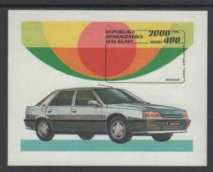 MALAGASY #1113 1993 RENAULT AUTOMOBILE MINT VF NH O.G S/S aa