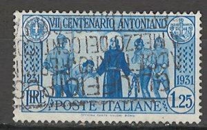 COLLECTION LOT # 5742 ITALY #262 1931