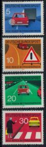 Germany - Bund - Scott 1059-1062 MNH (SP)