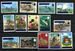 Tuvalu #2-15  Mint NH VF 1976 PD