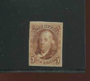 3 Franklin 'Reproduction of 1847 Issue' Unused Stamp (Stock 3 A1)