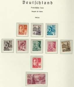 Germany 5N28-5N40 MNH (Page Not Included) (412815)