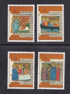 Vatican City   #1052-1055   MNH   1997  illustrations of Christ's  miracles