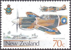 New Zealand # 873 mnh ~ 70¢ Air Force Airplanes