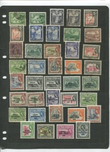 STAMP STATION PERTH Guiana Selection of 39 Stamps Unchecked Mint/Used -Lot 26