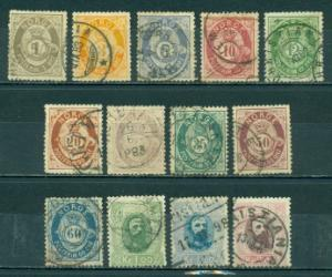 Norway #22-34  Used F  Scott $391.00