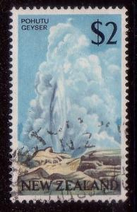 NEW ZEALAND 1968 $2 Geyser fine used.......................................38780