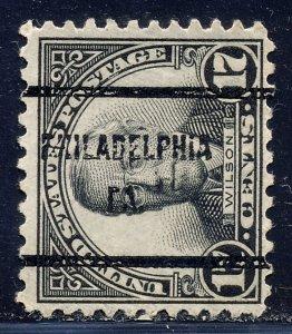 Philadelphia PA, 697-61 Bureau Precancel, 17¢ Wilson
