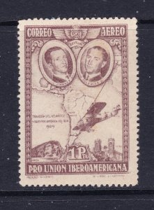 Spain the MH 1P purple from the 1930 Air set