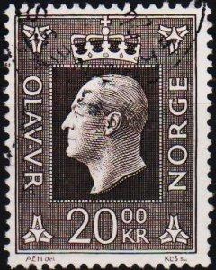 Norway. 1969 20k S.G.637  Fine Used