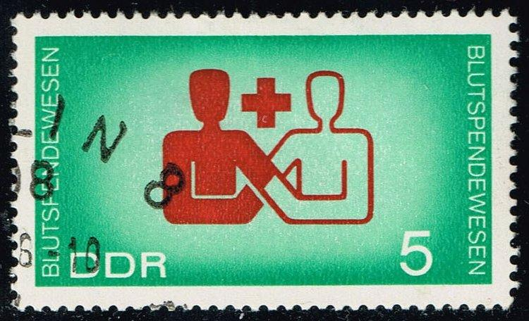 Germany DDR #854 Blood Donor and Recipient; CTO (0.25)