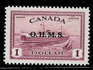Canada #O10 Mint XF NH C$120.00 -- Choice -- High quality