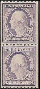 489 Mint,OG,NH... Pair... SCV $22.50