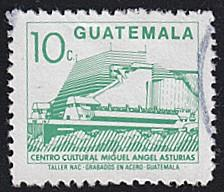 Guatemala # 454 used ~ 10¢ Cultural Center Building