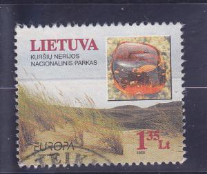 Lithuania  Scott#  629  Used