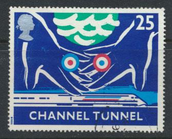 Great Britain SG 1821  Used  - Channel Tunnel