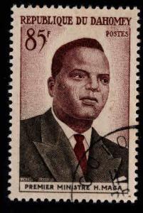 Dahomey Scott 140 used CTO favor canceled 1960 stamp CV$.90