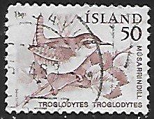 Iceland # 543 - Wren - used....{GBl)