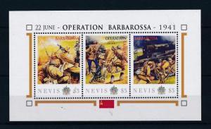[81041] Nevis 2011 Second World war Operation Barbarossa Sheet MNH